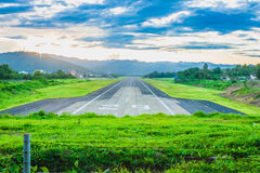 Mae Hong Son Airport. Maehongson, Thailand Stock Image