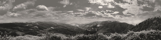 Mae Hong Son Panorama Imagens de Stock Royalty Free