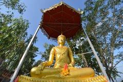 Mae Hong Son, Thailand. Buddha in Wat Phra That Doi Kong Mu, Mae Hong Son, Thailand Stock Photos