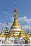 Mae Hong Son, Thailand. Wat Jong Klang, Mae Hong Son, Thailand royalty free stock images