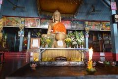 Mae Hong Son, Thailand. Wat Jong Klang, Mae Hong Son, Thailand stock images