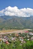 Mae Hong Sorn City Thailand Arkivbilder