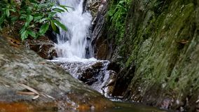 Mae Kam Pong waterfall, Chiang Mai stock video