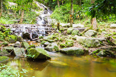 Mae Kampong Waterfall Chiang mai  Thailand. Stock Photo