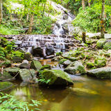 Mae Kampong Waterfall Chiang mai  Thailand. Stock Photos
