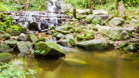 Mae Kampong Waterfall Chiang mai  Thailand. Royalty Free Stock Photography
