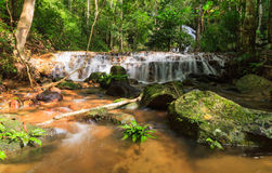Mae Kampong Waterfall Royalty Free Stock Photo