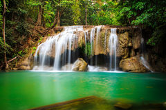 Mae khamin waterfall Thailand Stock Photos