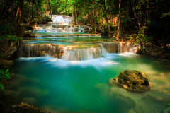 Mae khamin waterfall Thailand Stock Photography