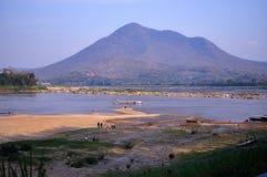 Mae Khong River sehen Ansicht Stockbilder
