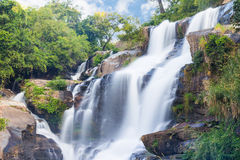 Mae-klang waterfall Royalty Free Stock Images