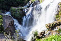 Mae Klang Waterfall in Chiang Mai Province, Doi Inthanon Thailand Stock Photos