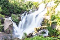 Mae Klang Waterfall in Chiang Mai Province, Doi Inthanon Thailand Royalty Free Stock Image
