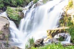 Mae Klang Waterfall in Chiang Mai Province, Doi Inthanon Thailand Stock Photo