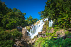 Mae Klang waterfall in doi-inthanon Chiangmai , Thailand Stock Images