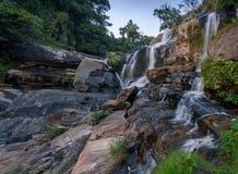 Mae Klang Waterfall Royalty Free Stock Photo