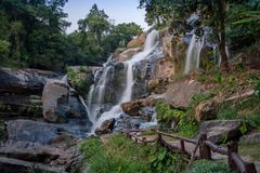 Mae Klang Waterfall Stock Image