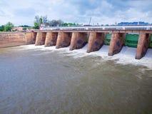 Mae Klong水坝 库存照片