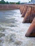 Mae Klong Dam Royalty Free Stock Image