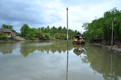 Mae Klong flod Fotografering för Bildbyråer