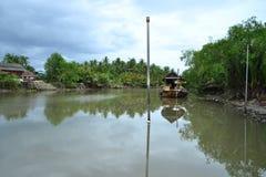 Mae Klong Fluss Stockbild