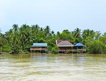 Mae Klong River Stock Image