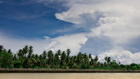 Mae Klong River Amphawa Stock Afbeelding
