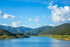 Mae Kuang lake Royalty Free Stock Images