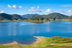 Mae Kuang lake Royalty Free Stock Photography
