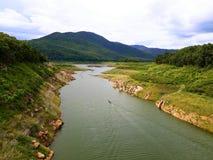 Mae Kuang tama Ja jest bardzo spokojnym i dobrym miejscem z piękną naturą fotografia stock