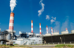Mae Moh coal power plant Stock Photography