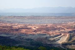 Mae moh lignite mine Royalty Free Stock Photography
