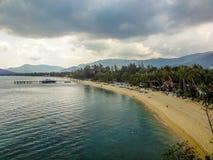 Mae Nam beach in Koh Samui Thailand Stock Photography