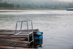 Mae Ngad Dam und Reservoir in Mae Taeng-Bezirk, Chiang Mai Tha Stockbild