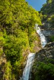 Mae Pan waterfall in Doi Inthanon Stock Image
