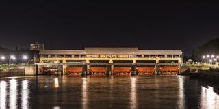 Mae Ping flod Arkivfoton