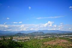 Mae sa-lunghi, Tailandia di Doi Fotografie Stock