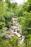 Mae Sa Wasserfall. Stockfotografie