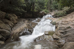 Mae Sa Waterfall Stock Photo