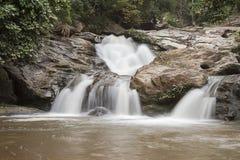 Mae Sa Waterfall Stock Image