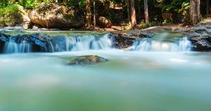 Mae Sa waterfall national park in Mar Rim, Chiang Mai, Thailand Royalty Free Stock Photography