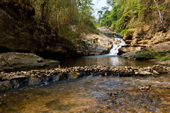 Mae Sa Waterfall, Thailand Royalty Free Stock Photos