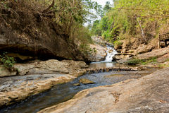 Mae Sa Waterfall, Thailand Royalty Free Stock Photo