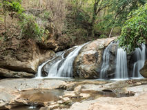 Mae Sa Waterfall, Thailand Stock Photos