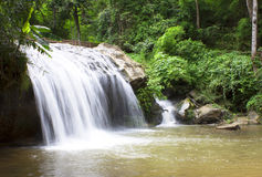 Mae Sa Waterfalls Royalty Free Stock Image