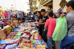 Mae Sai market Royalty Free Stock Photo