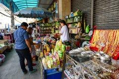 Mae Sai market Stock Images