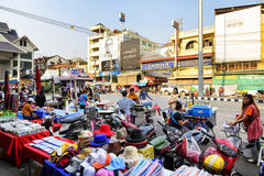 Mae Sai market Stock Photo