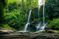 Mae Sapok Waterfall Lizenzfreie Stockbilder