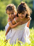 małe siostry Fotografia Royalty Free